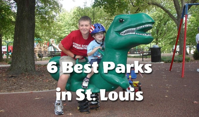 6 Best Playgrounds in St. Louis